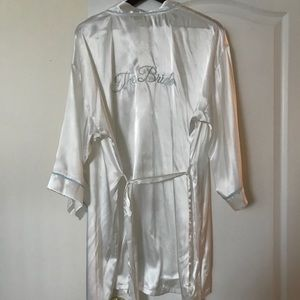 Other - Bride dressing robe